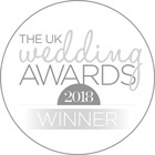 Wedding awards badge logo.